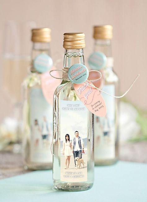 Invitaciones De Matrimonio Hechas Con Botellas
