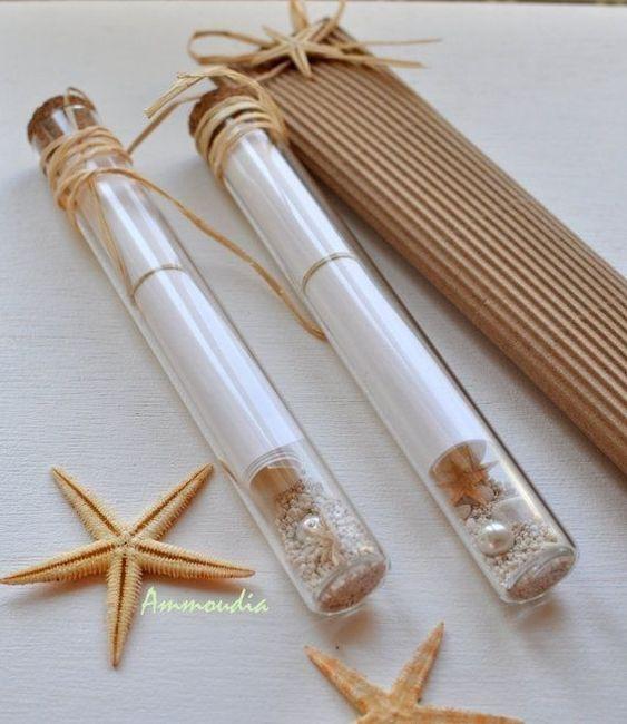 Invitaciones De Matrimonio Hechas Con Botellas - Invitaciones-de-boda-en-botella