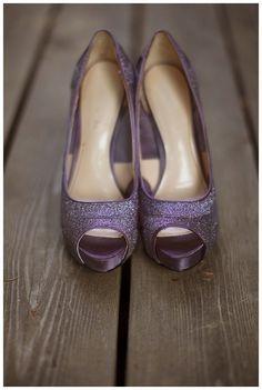 Zapatos en color morado 6
