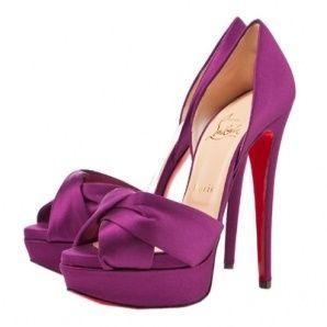 Zapatos en color morado 8