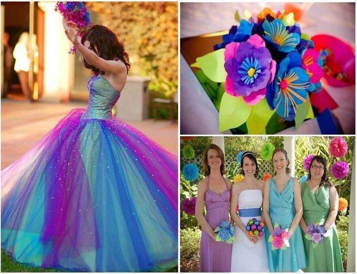 5 errores más comunes al elegir los colores de tu matrimonio 1