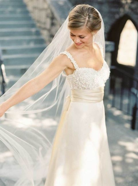 Vestido de novia strapless corazon