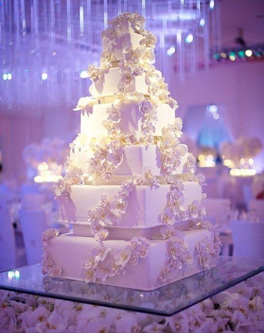 Cómo decorar la mesa del pastel de boda