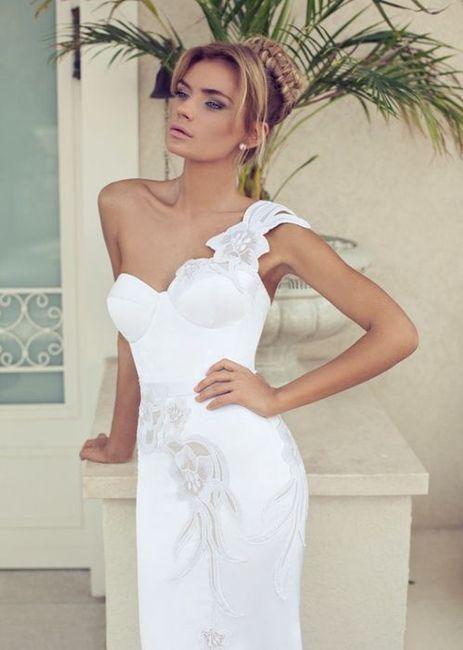 Robes de mariée Nurit Hen: votez pour votre préférée ! 1