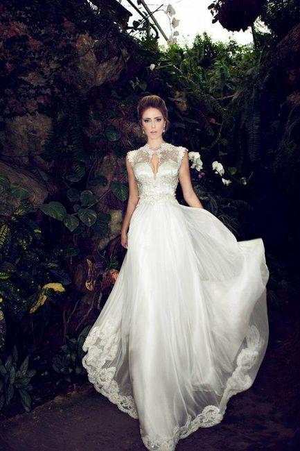 Robes de mariée Nurit Hen: votez pour votre préférée ! 6