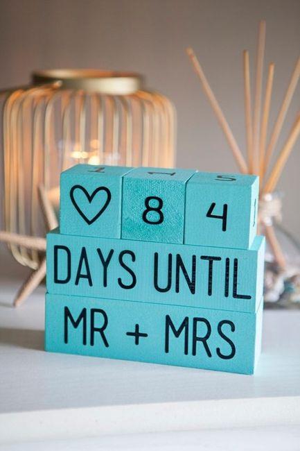 El presupuesto de tu casamiento es - ¿Cuánto falta para tu gran día? 1