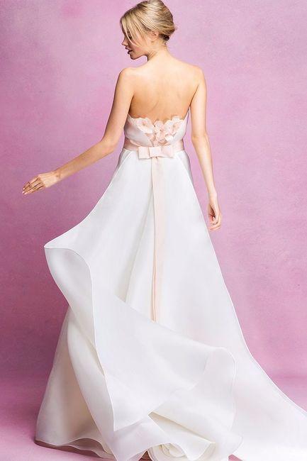 Que tendencias del 2016 te gusta para tu vestido de novia?