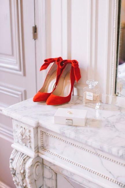 zapatos rojos para novias, te animas?