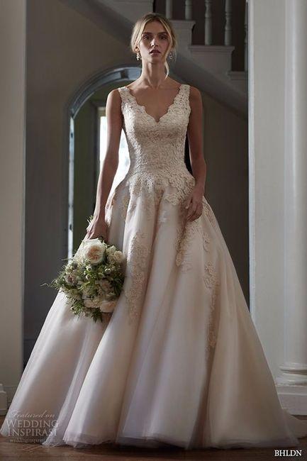 vestidos de novia color ivory