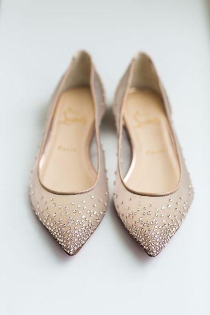 8 zapatos planos para tu vestido de novia