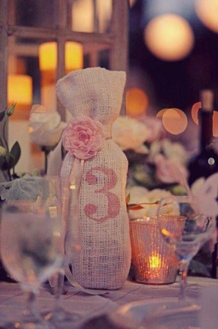 7. Numeradores de mesa