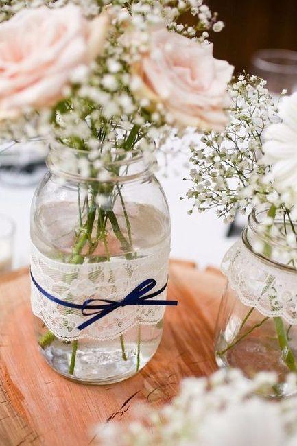 Centros De Mesa Con Flores O Sin Flores