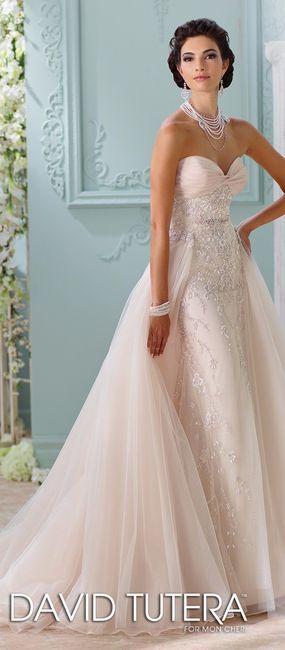 Falda sobrepuesta para tu vestido de novia?