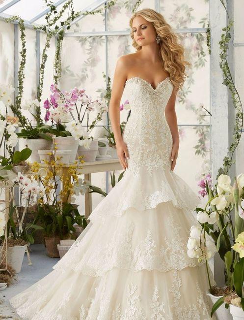 vestidos de novias con vuelos, ¿cuál prefieres?