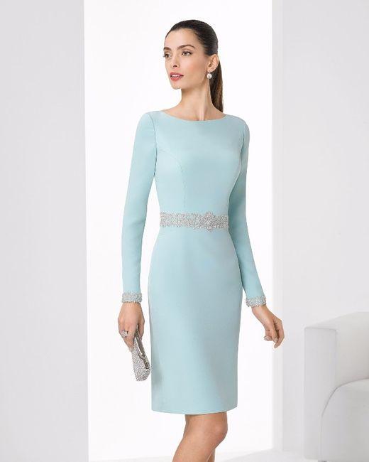 Vestidos azules para matrimonio civil