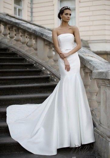 tela lisa o con textura para tu vestido de novia?