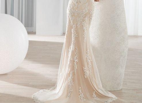 diseña tu vestido de novia: ¡escoge la cola!