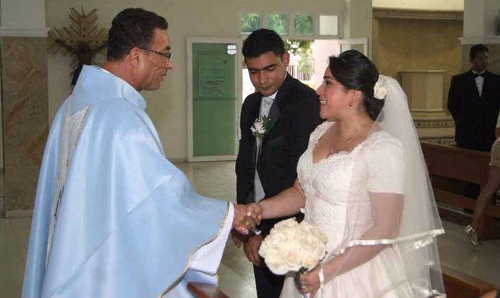 Matrimonio religiosos de Juan Carlos y Sindy