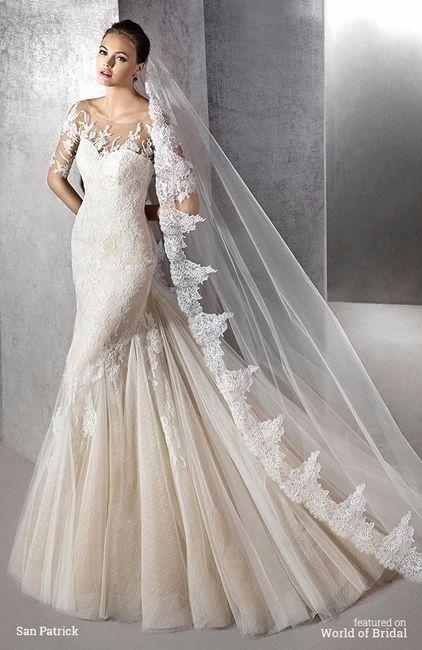Telas para vestidos de novia en santiago
