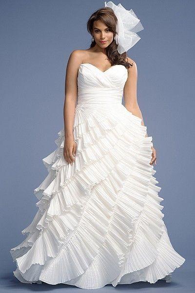 Vestidos de novia para gorditas matrimonio civil
