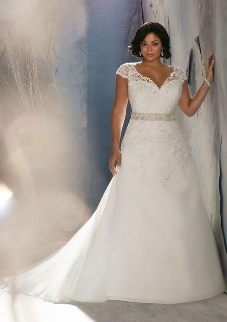 Vestidos de novia para gorditas lima