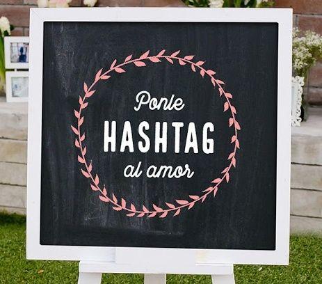 ¡Encontremos el hashtag para tu boda! 1