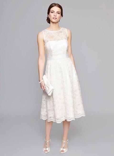 Vestido novia midi