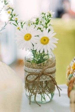 6 centros de mesa DIY para la boda 3