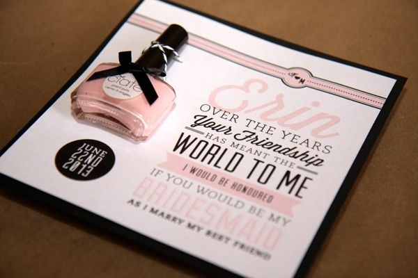 bdbce22e2 Invitaciones para tus damas de honor - Foro Manualidades para bodas - bodas .com.mx