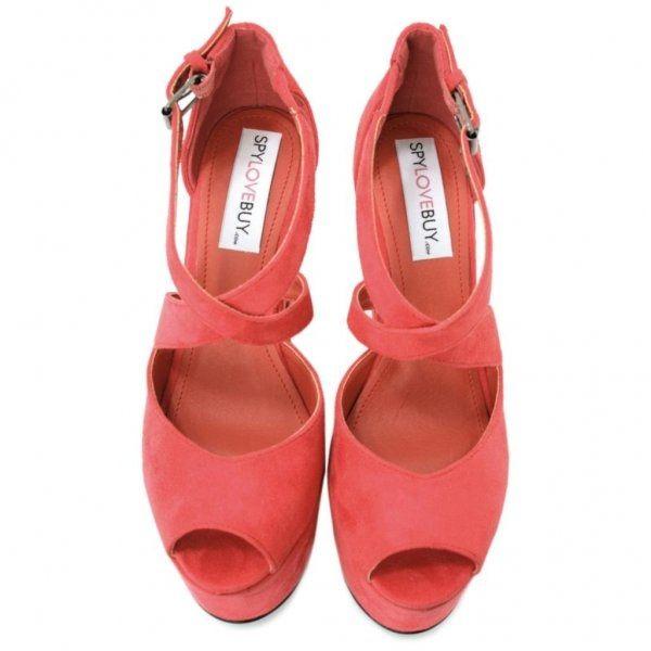 zapatos para novia color salmón