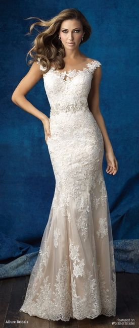 Vestidos de novia para gorditas caderonas