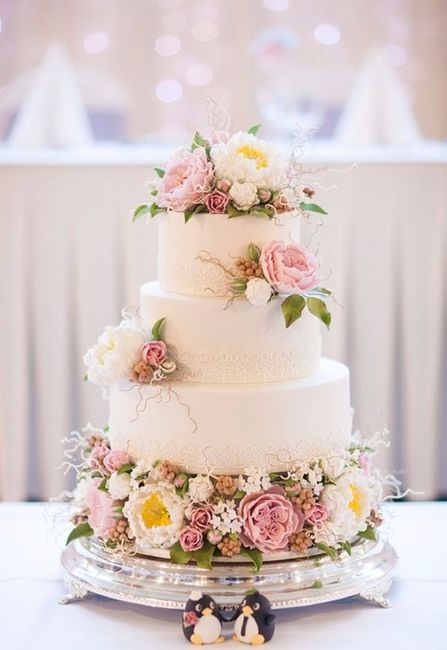 5 pasteles de matrimonio estilo vintage