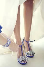 cff323f932b Zapatos de color azul rey