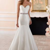 Vestido de novia de Satín ¡Ponle nota de 0 a 5!