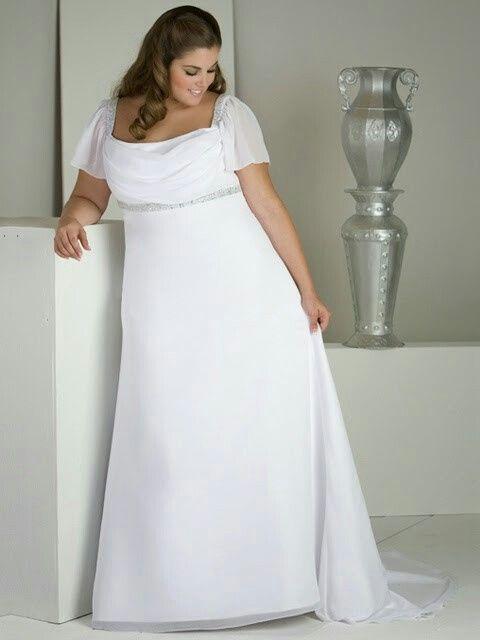 a127665b7 Consejos para vestido novias gorditas - 1