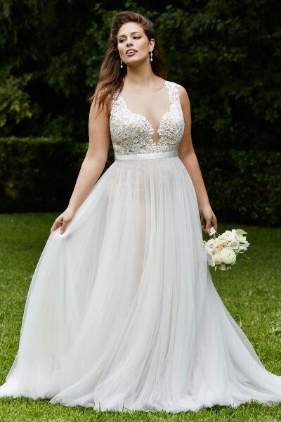 Tips para vestidos de novias gorditas