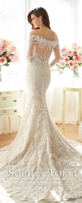 6 vestidos de novia de Sophia Tolli