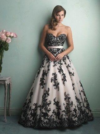 vestido de novia de un color diferente al blanco.