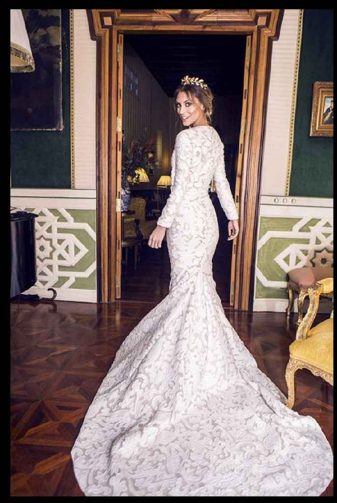 El vestido de novia con tu nombre 🌈 - 1