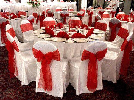 color rojo para tu boda parte 3 la decoración de mesas