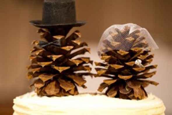 Idea para el pastel de matrimonio