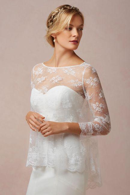 chal para el vestido de novia