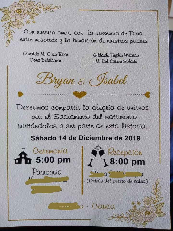 Adelanto de mi boda - 1