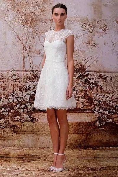 Vestido de novia matrimonio civil colombia