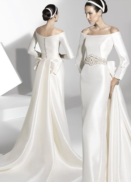 para el amor no hay edad: vestidos para novias mayores
