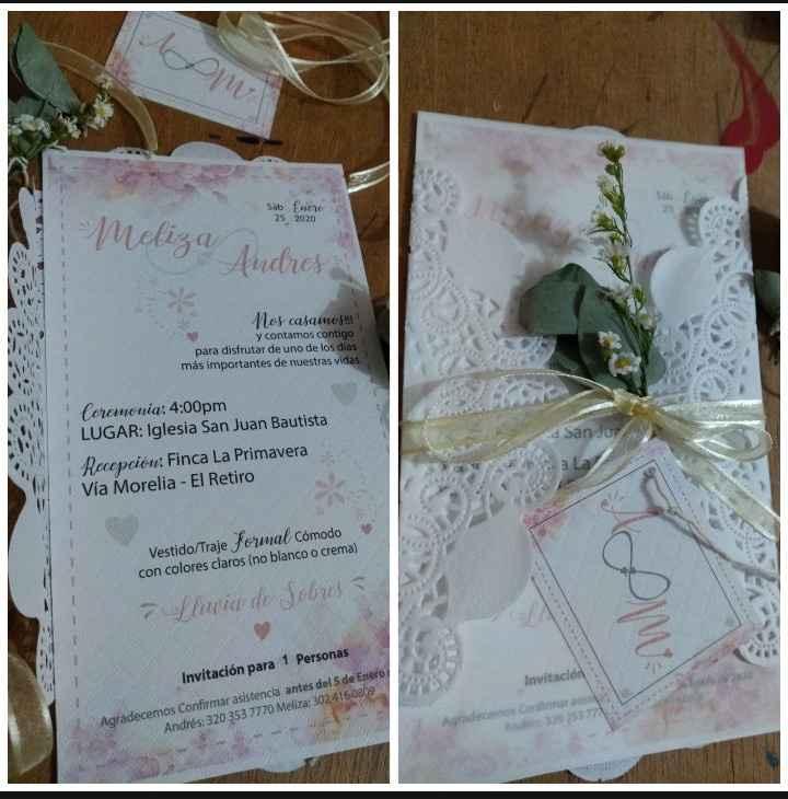 Nuestras Invitaciones 💕 - 1