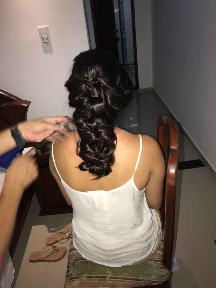 Peinados con tiara semirecogidos - 1