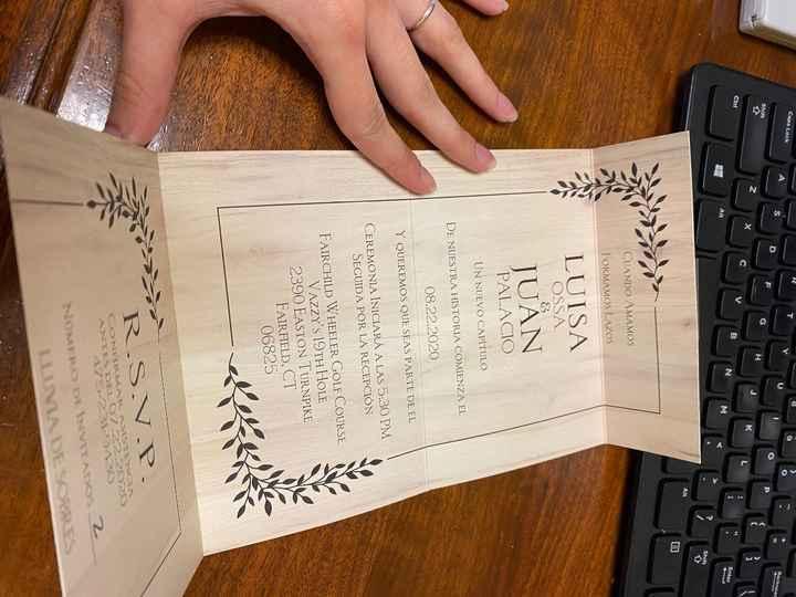 Invitaciones para la boda 💌 - 1