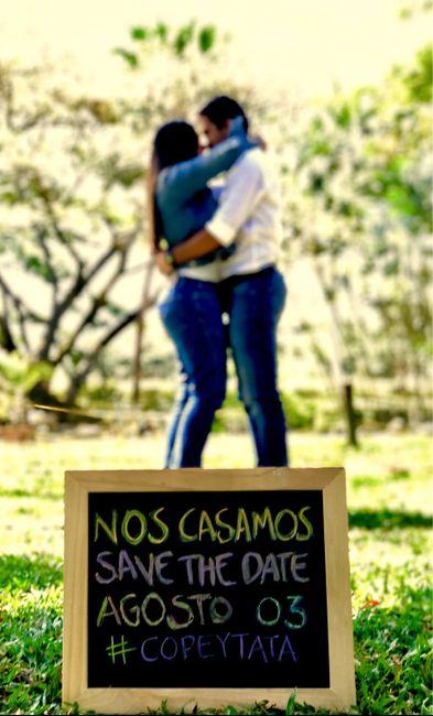 ESPECIAL Save the Date: ¡Que nadie falte a tu matrimonio! 1