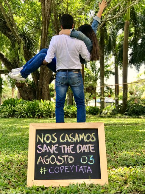 Save the date cual escogerian? - 3